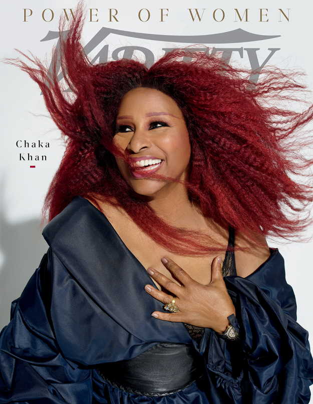 Chaka Khan. CREDIT: Peggy Sirota for Variety