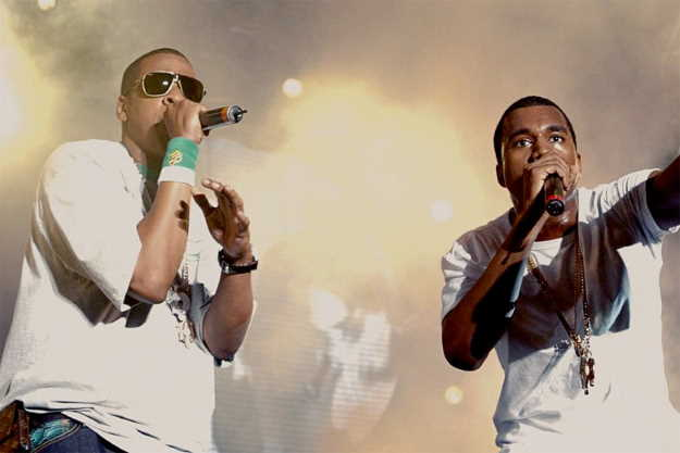 Jay-Z and Kanye West. PhotoCredit: AMC