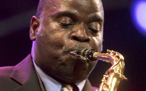 Jazz saxophonist Maceo Parker (Laurent Gillieron / Associated Press)
