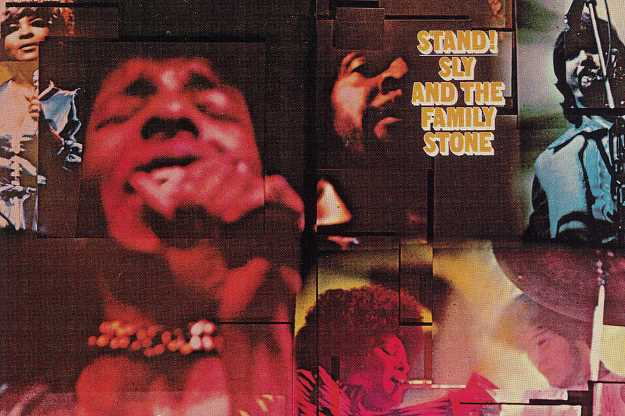 Sly and The Family Stone 'Stand!' cover art