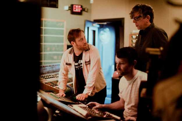 The Black Keys recording. PhotoCredit: Alysse Gafkjen
