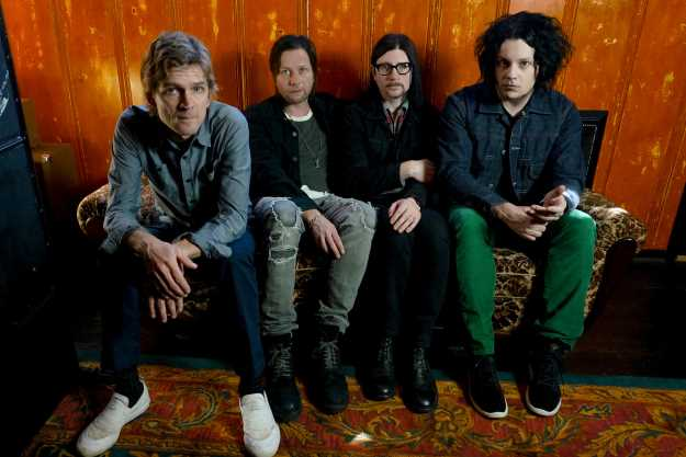 The Raconteurs. Image copyright: Olivia Jean